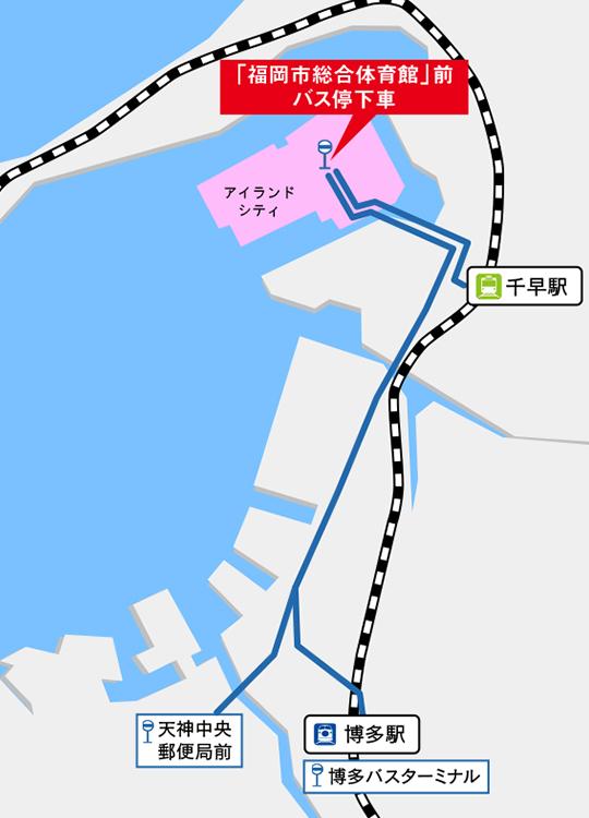 【交通機関でお越しの方】ご案内図